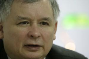 Protest przed domem J. Kaczyńskiego po jego wypowiedzi o aborcji