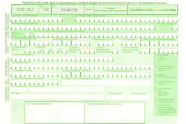 MSW o zwolnieniach lekarskich: L-4 przestanie opłacać się mundurowym
