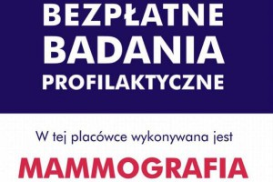 MZ: resort zachęca kobiety do badania piersi