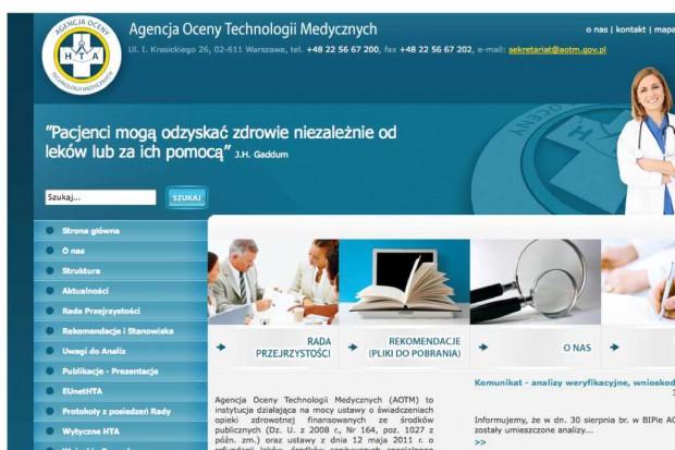 AOTM: analizy weryfikacyjne dla produktów leczniczych