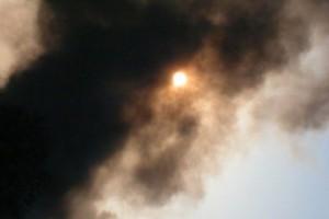 Warszawa: pożar w szpitalu