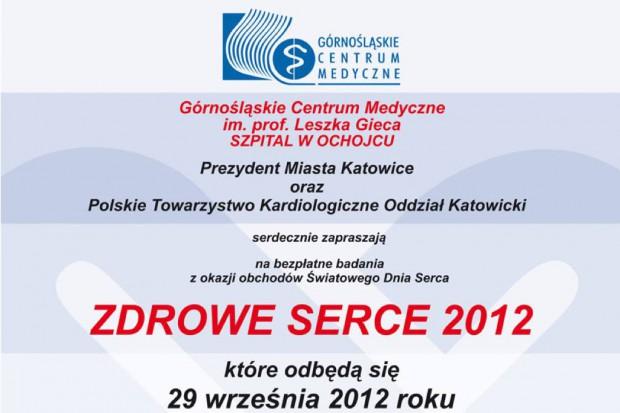 Śląskie: w sobotę bezpłatne badania z okazji Światowego Dnia Serca
