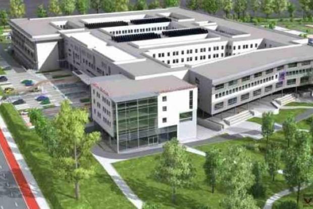Wrocław: plan dla powstającego szpitala na Stabłowicach (prawie) bez zmian