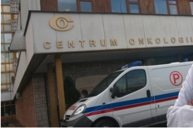 Ministerstwo Zdrowia o reorganizacji w warszawskim Centrum Onkologii