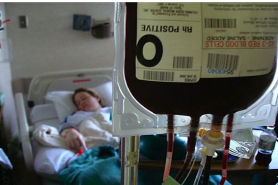 Warszawa: jesienią w centrum będzie można oddać krew