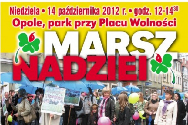 Opole: ponad 300 osób wzięło udział w Marszu Nadziei