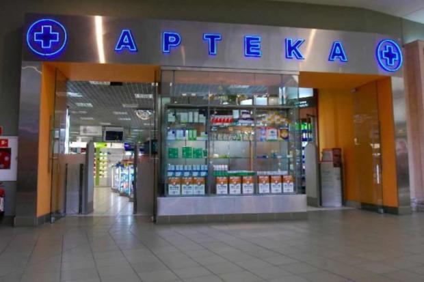 Przedstawiciele samorządu aptekarskiego na Miodowej