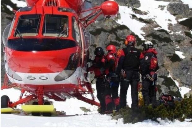 Małopolskie: ratowniczy śmigłowiec znowu może latać w Tatrach