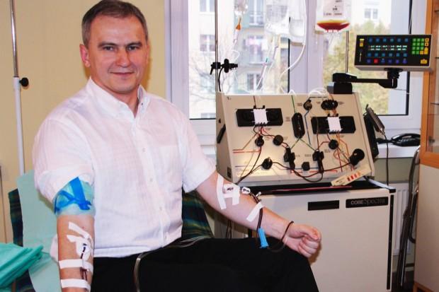 Bydgoszcz: transplantolog i prorektor został dawcą szpiku