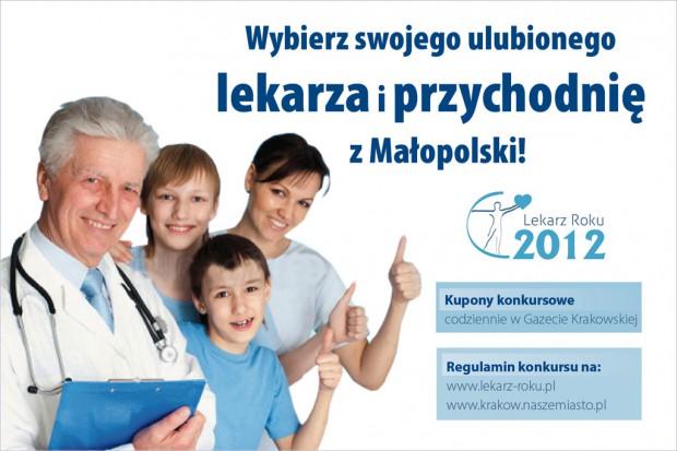 """IX Plebiscyt """"Lekarz i Przychodnia Roku 2012 w Małopolsce"""""""