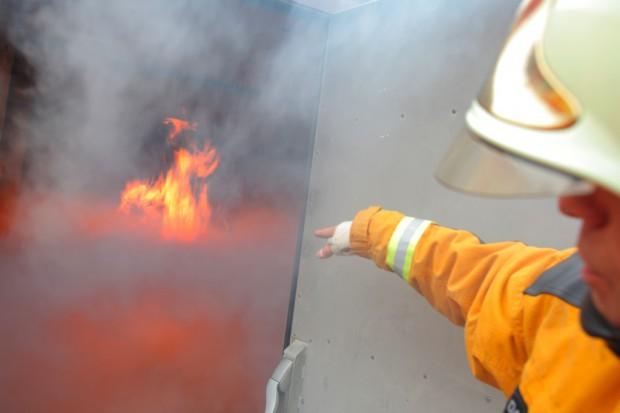 Kraków: pożar w szpitalnym laboratorium