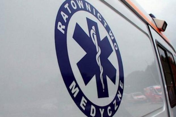 Tarnów: ratownik, który chciał pomóc, sam trafił do szpitala