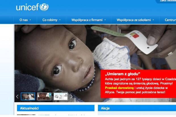 UNICEF: ponad 700 tys. zł od Polaków dla dzieci w Czadzie