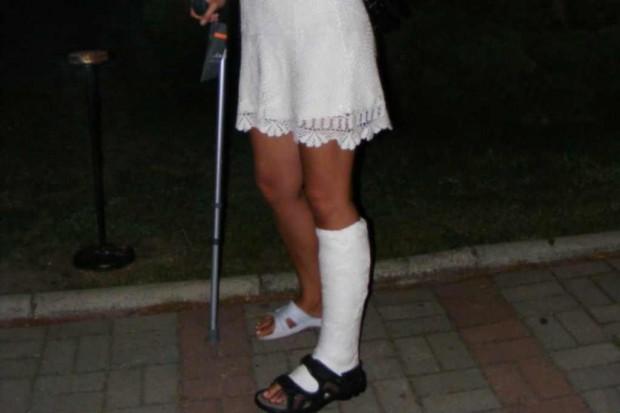 Kielce: pacjenci ze złamaniami kończyn natarli na SOR