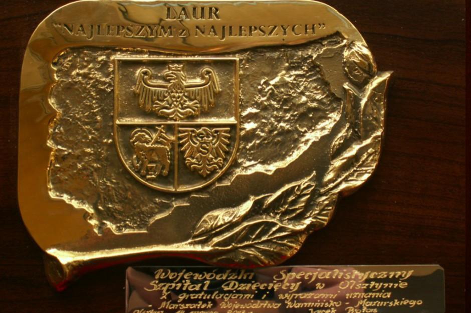 Olsztyn: szpital dziecięcy został nagrodzony przez marszałka