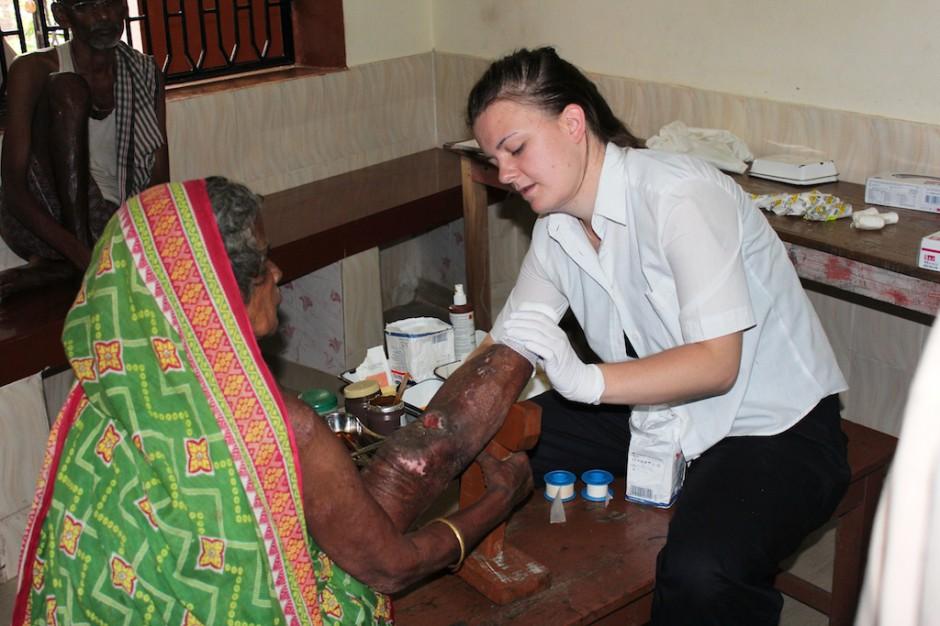 Fundacja zbiera opatrunki dla pacjentów szpitali misyjnych