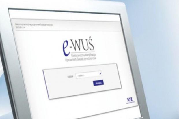 NFZ o problemach technicznych w dostępie do systemu eWUŚ