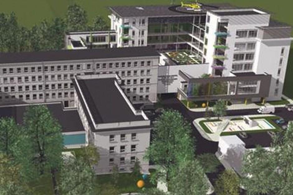 Łódź: nowe skrzydło szpitala uniwersyteckiego