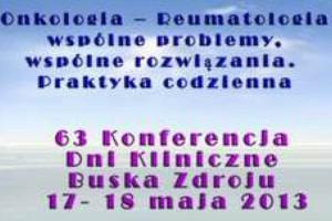 63 Konferencja Dni Kliniczne Buska Zdroju