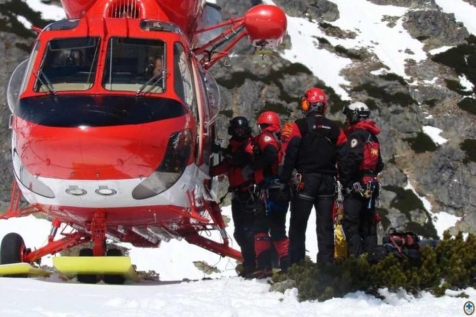 50 lat od pierwszej akcji ratowniczej z udziałem śmigłowca w Tatrach