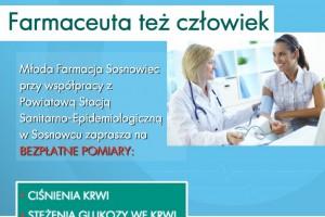 Sosnowiec: akcja prozdrowotna studentów farmacji
