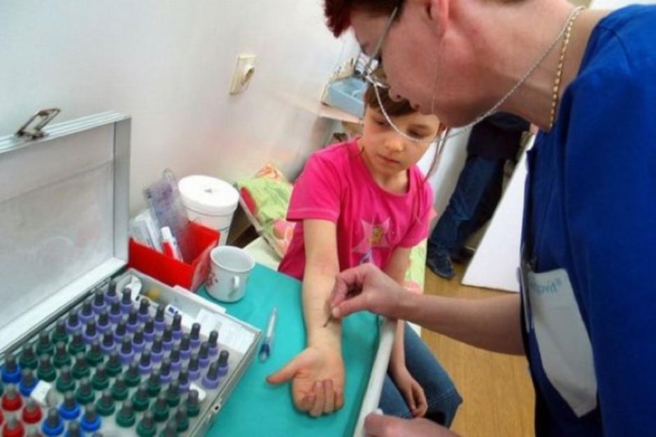 Alergie coraz częstsze u najmłodszych