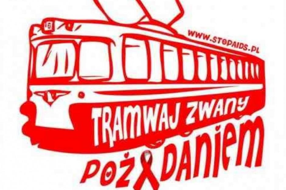 Katowice: w tramwaju (autobusie) o HIV/AIDS