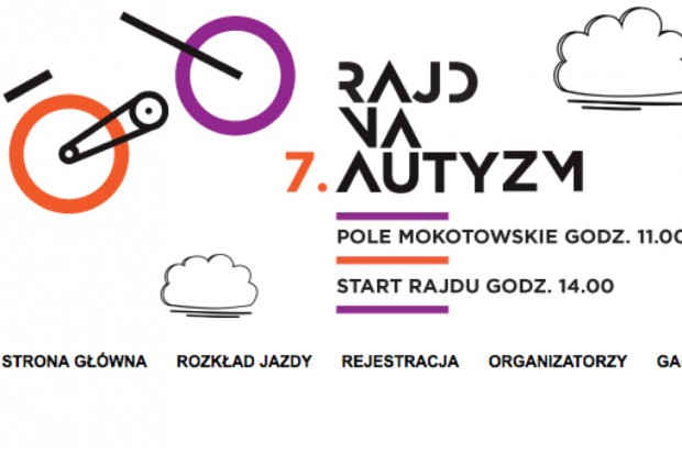 Warszawa: 25 maja wyruszy rowerowy Rajd na Autyzm