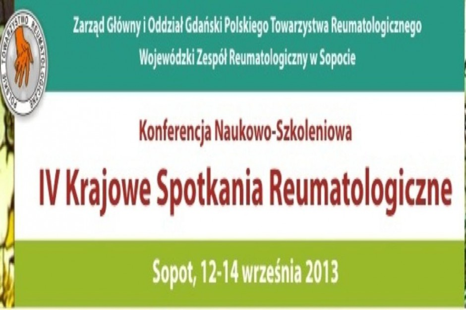 IV Krajowe Spotkania Reumatologiczne