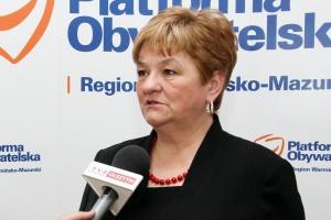 Tusk popiera kandydaturę Elżbiety Gelert, dyrektor szpitala w Elblągu