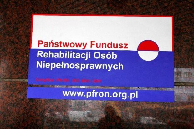 Wiceminister pracy: dofinansowanie PFRON do wynagrodzeń niepełnosprawnych - niezagrożone