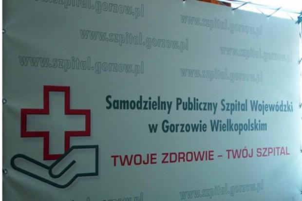 Piotr Dębicki będzie prezesem spółki po przekształceniu szpitala w Gorzowie Wlkp.