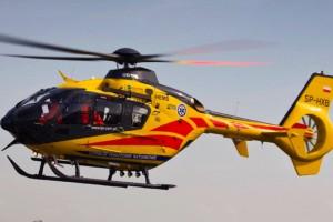 Śmigłowiec LPR pierwszy raz wylądował na dachu szpitala w Zdrojach