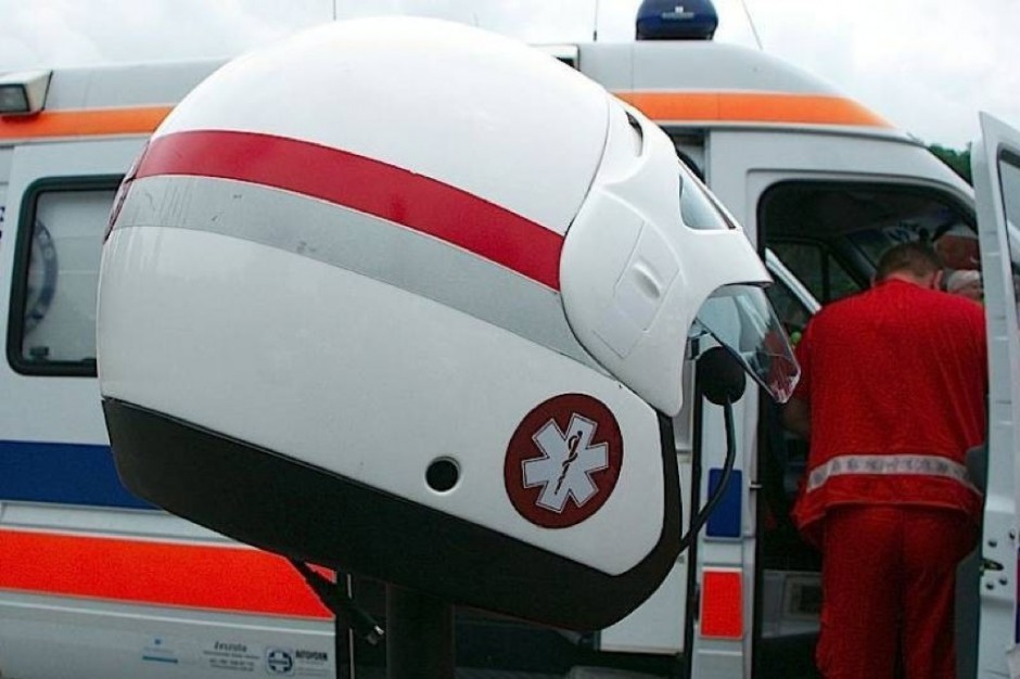 Łódź: ratownicy na motocyklach pomogą pacjentom w zakorkowanym mieście