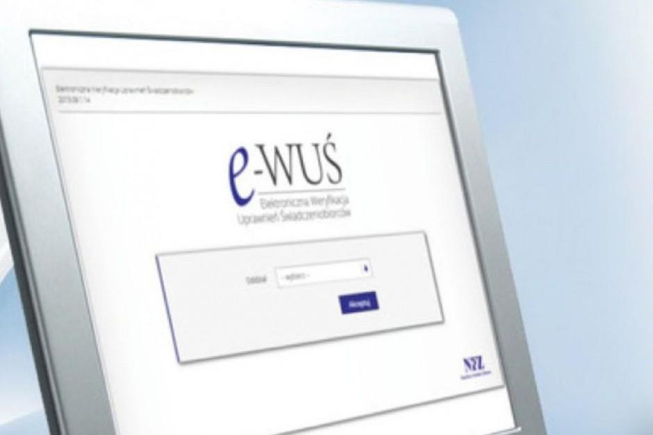 NFZ zapowiada przerwę w dostępie do systemu eWUŚ