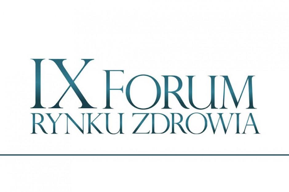 IX Forum Rynku Zdrowia: 14 sesji, 100 prelegentów, ponad 1000 gości
