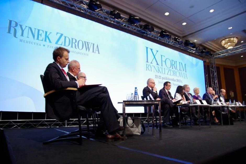 IX Forum Rynku Zdrowia: 2014 będzie rokiem prac nad nowymi rozwiązaniami
