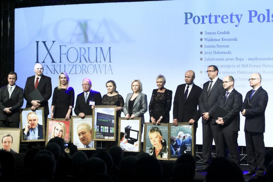 IX Forum Rynku Zdrowia: poznaliśmy laureatów Portretów Polskiej Medycyny 2013