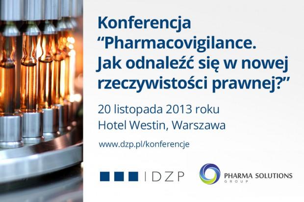 """Konferencja """"Pharmacovigilance. Jak odnaleźć się w nowej rzeczywistości prawnej?"""""""