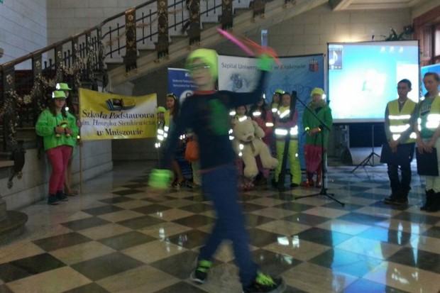 Kraków: szpital wspiera akcję poprawy bezpieczeństwa pieszych