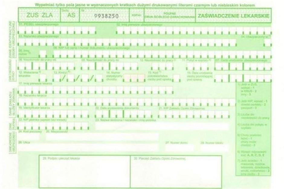 Zarzuty dla lekarki i recepcjonistki - zwolnienia za łapówkę