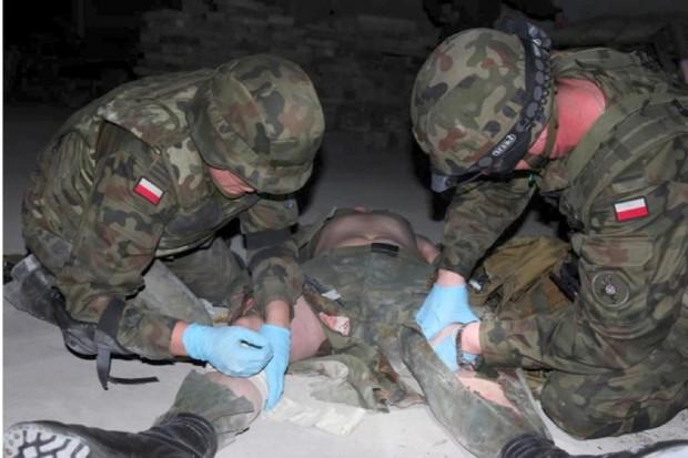Wojskowi lekarze sprawdzą, jak komandosi tamują krwotok