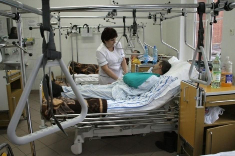 Krynica: narciarz nie poleży długo w szpitalu