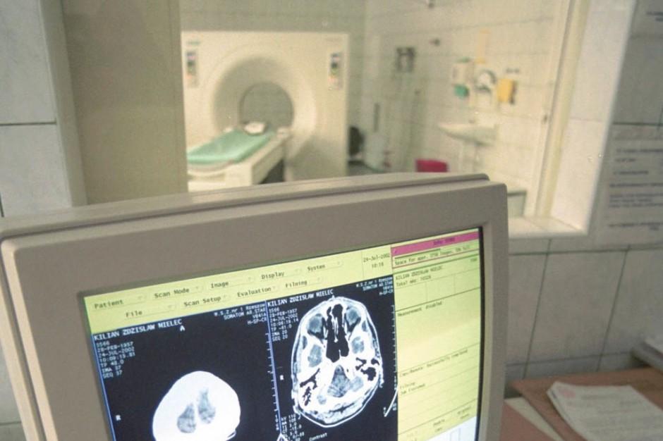 Augustów: badania tomografem oddaliły się od pacjentów