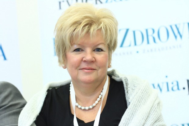 Kręcka nie jest już szefem łódzkiego oddziału NFZ