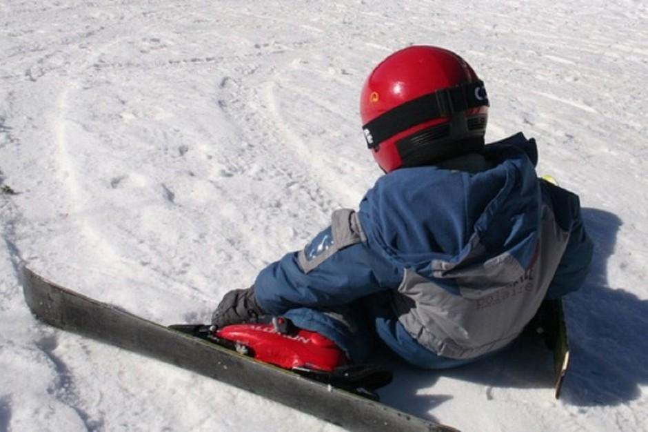 Ustrzyki Dolne: ratownicy GOPR uczą narciarzy bezpiecznych zachowań