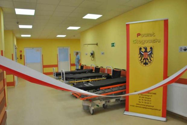 Dolnośląskie: szpital w Głogowie ma nowoczesny SOR
