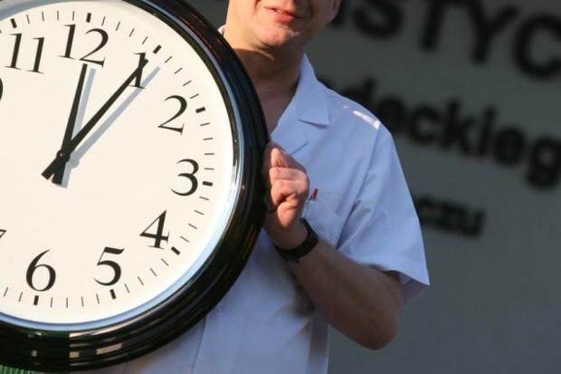 Szpitale łamią normy czasu pracy lekarzy