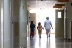 Warszawa: Anna Komorowska odwiedziła szpital dziecięcy