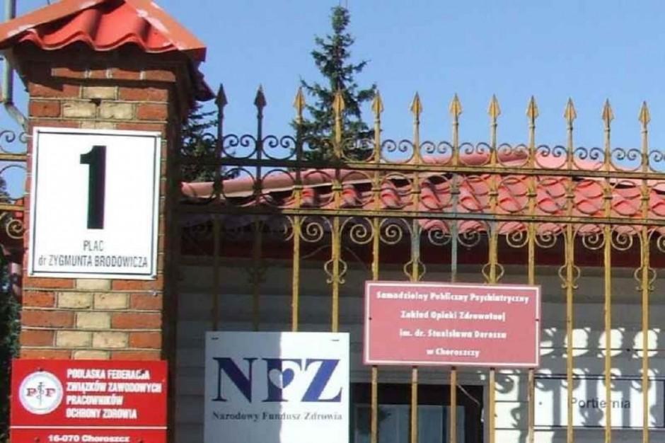 Choroszcz: porozumienie rezydentów z MZ nie rozwiązuje problemów szpitala